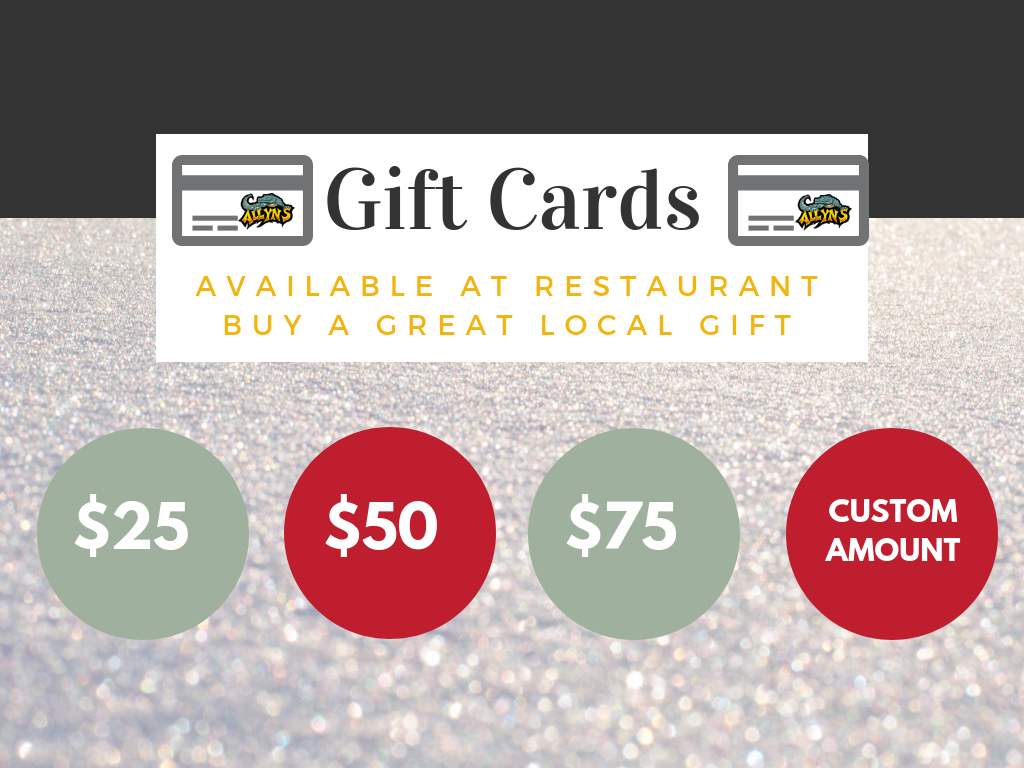 Allyns Cafe Cincinnati Dining Gift Cards