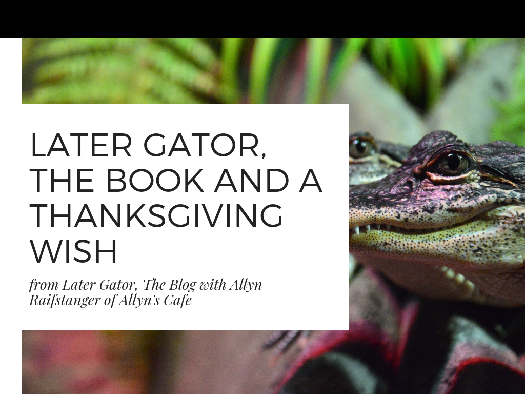 Later Gator: Vegan Cajun Recipes and Cookbook by Allyn Raifstanger